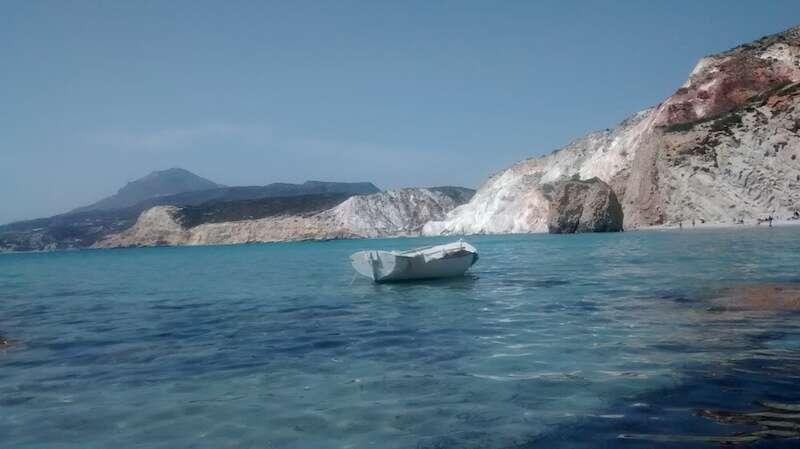 praia de Firiplaka - Milos