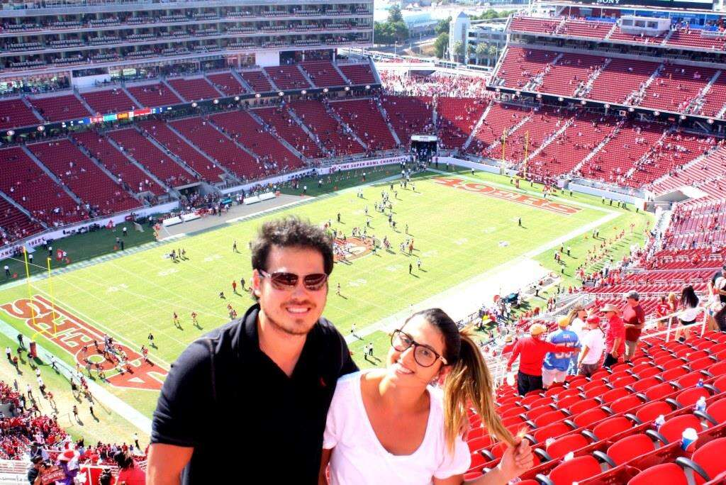Jogo do 49'rs - Levi's Stadium