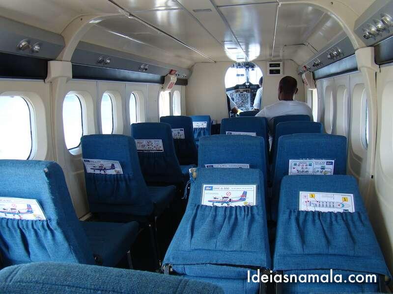 Aviãozinho - Vôo St. Barths