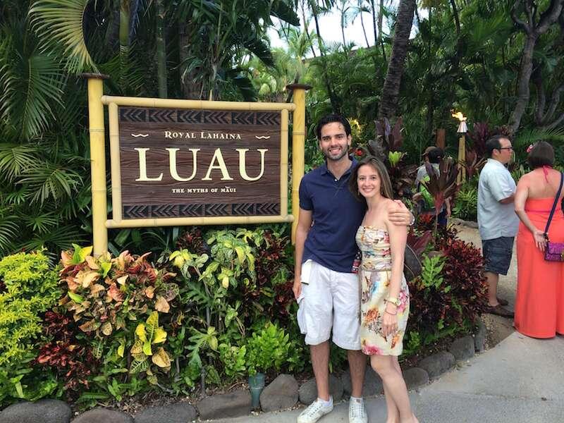 Luau no Havaí