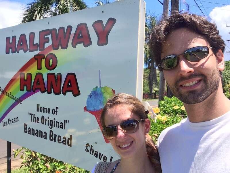 Percurso para Hana: Maui