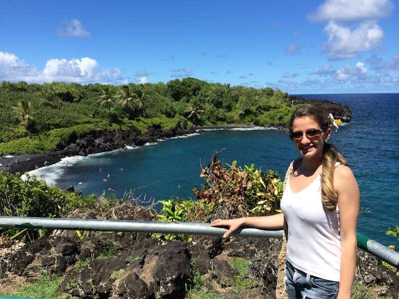 Praia em Big Island