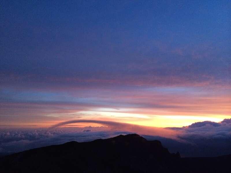 Nascer do sol em Maui
