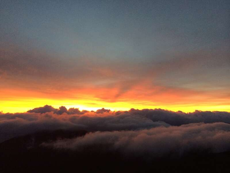 Nascewr do sol em Maui
