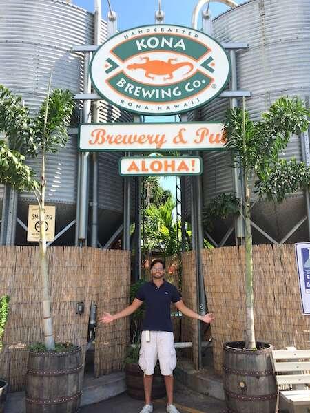 Cervejaria em Kona