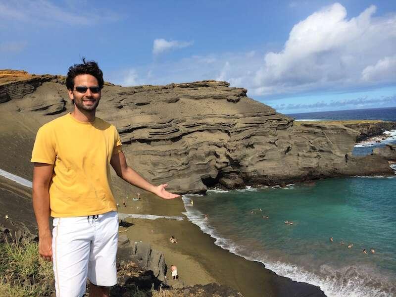 Green Sand Beach - Big Island