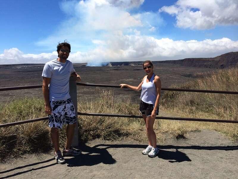 Parque Nacional dos vulcões - Big Island
