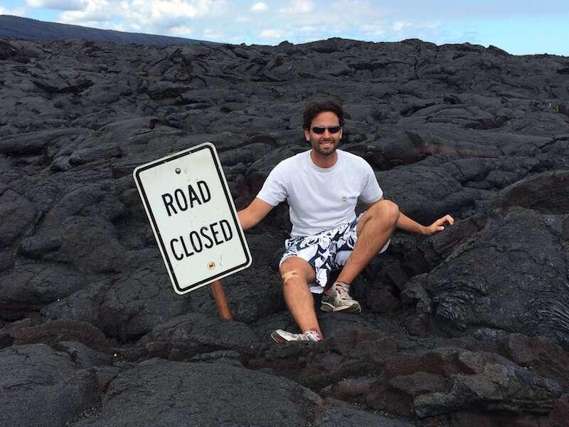 Lava em Big Island