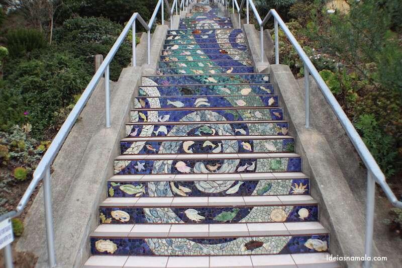 Oceano - Escadaria Mosaico - San Francisco