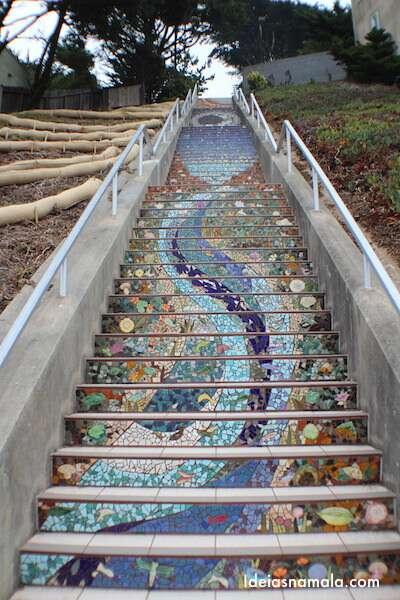 Rio - Escadaria Mosaico - San Francisco