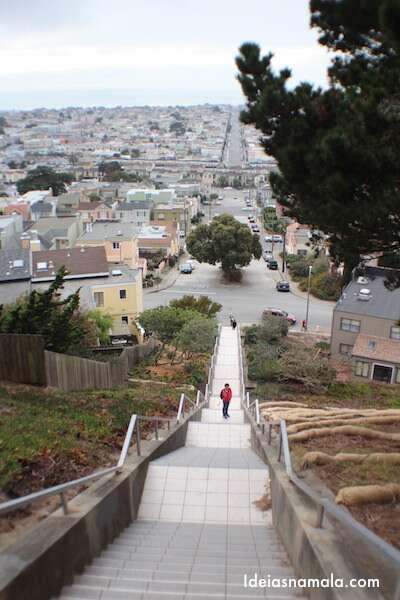 Escada Mosaico - San Francisco