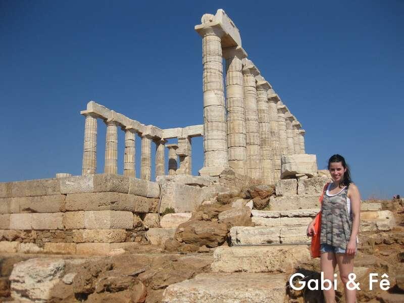 Templo De Poseidon - Grécia