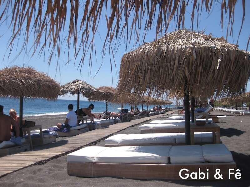 Black Beach - Santorini