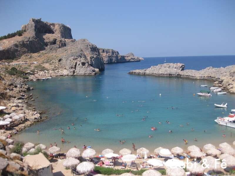 Praia em Rodes - Grécia