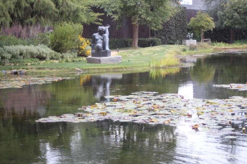 Jardins do museu Norton Simon - Pasadena