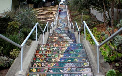 Mosaic Steps San Francisco