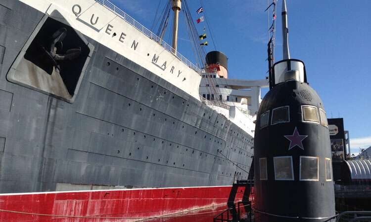 Queen Mary e Scorpion - Long Beach
