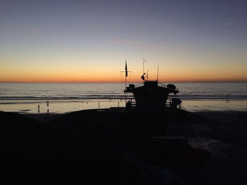 Praia encinitas