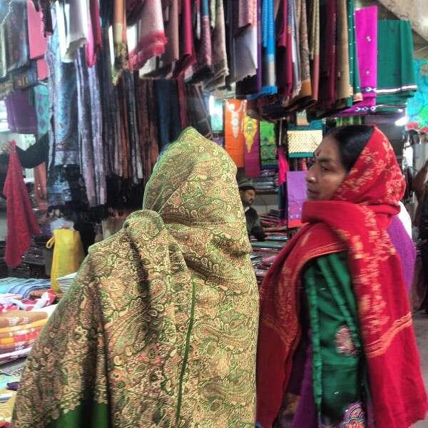 Bazar em Delhi