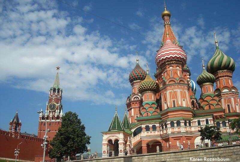 Moscou: Catedral Sao Basilio