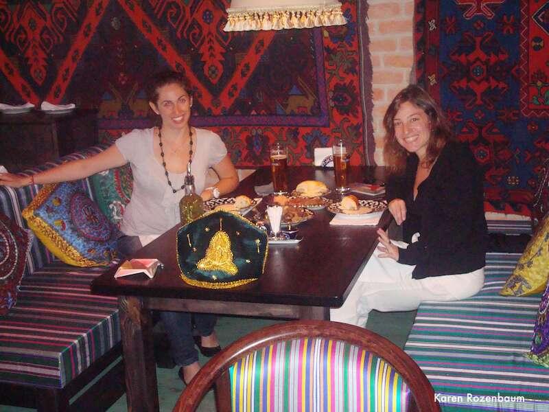 Moscou: Restaurante Uzbequistao