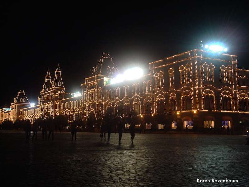 Moscou: Rym a noite