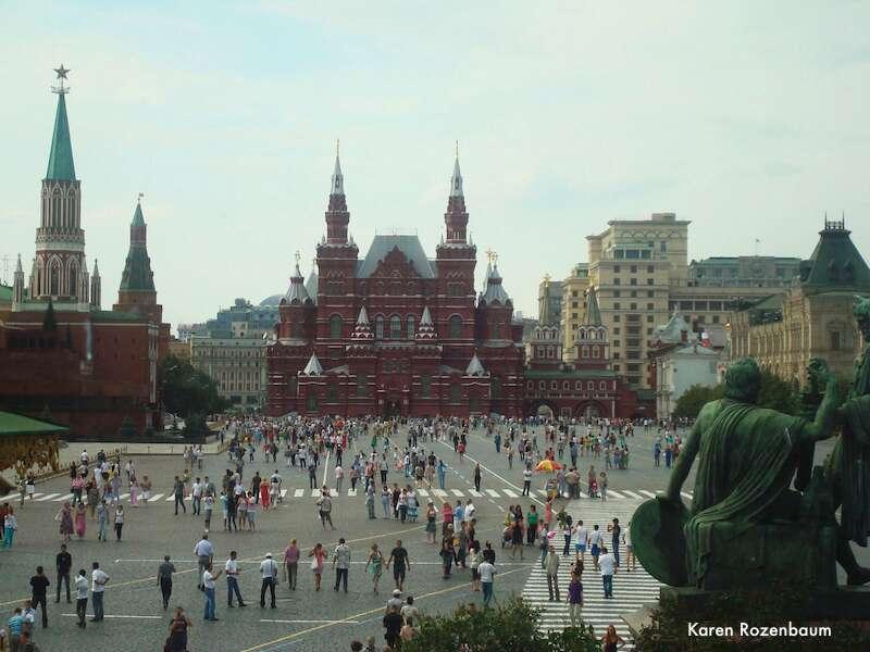 Moscou: Praca Vermelha