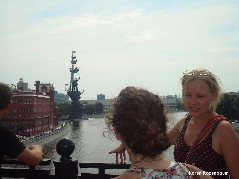 Free tour Moscou: Guia Anicha