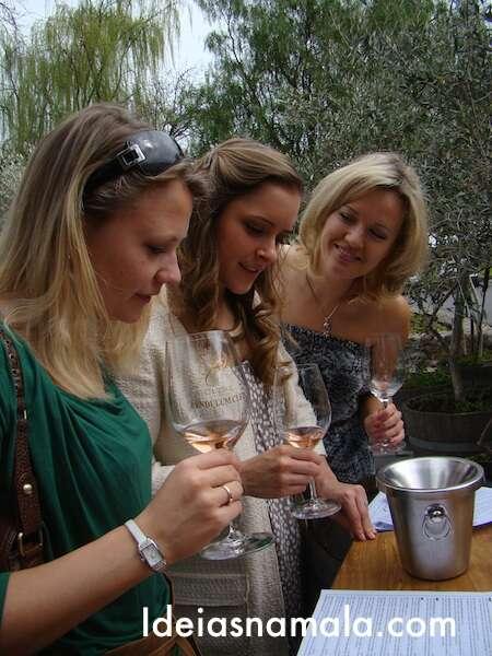 Degustação de vinhos - Cline