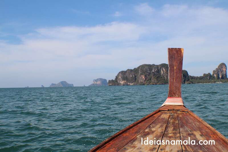 Ferry entre Krabi e Railay