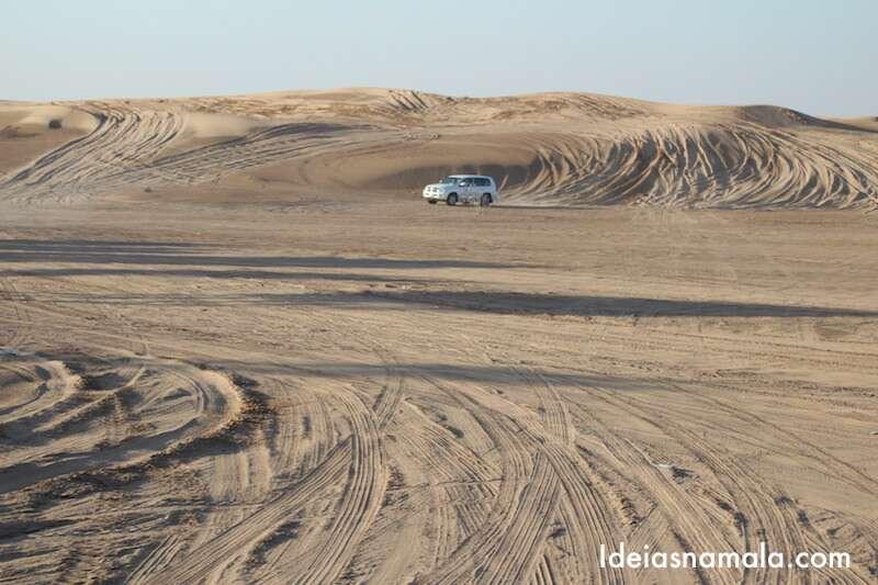 4x4 no Deserto de Dubai
