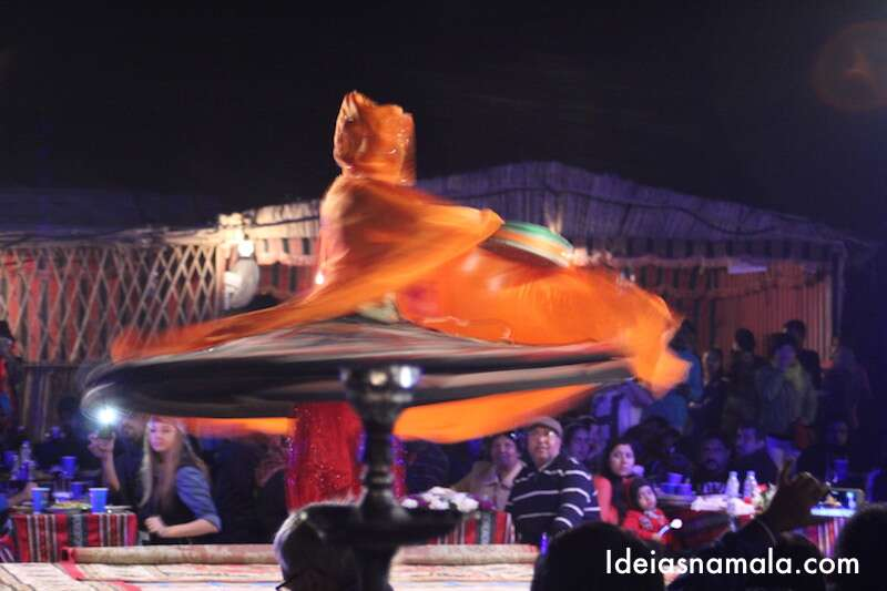 Dança típica árabe