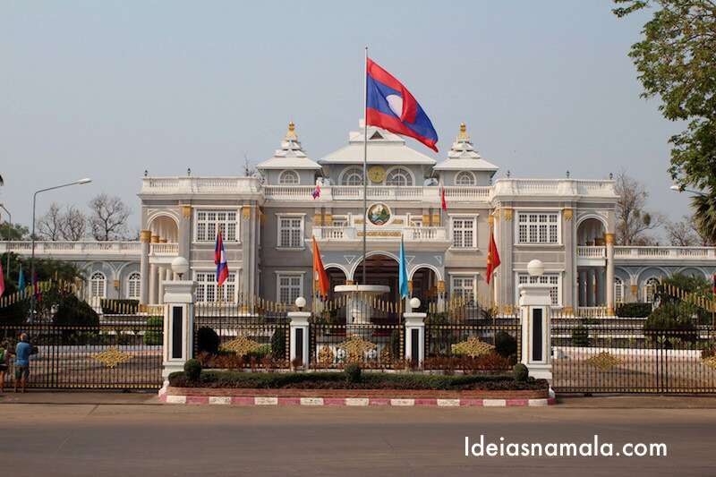 Palácio presidencial - Vientiane