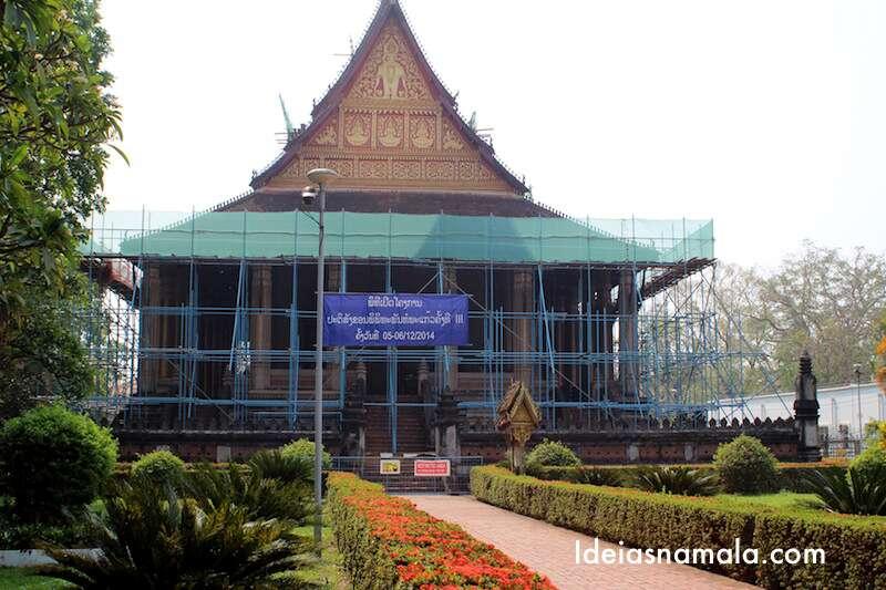 Haw Pra Kaew - Vientiane