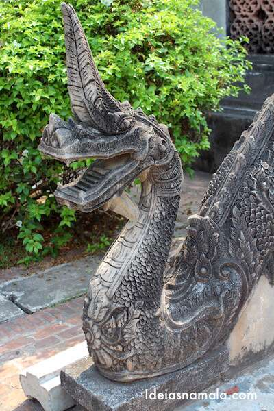 Naga de pedra - Haw Pra Kaew