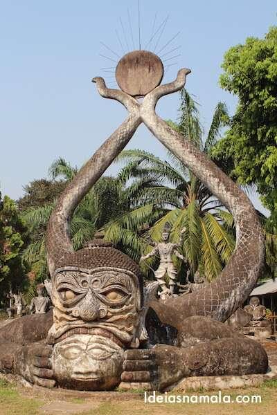 Escultura no Buda Park