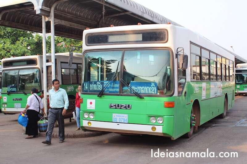 Estação de ônibus de Vientiane