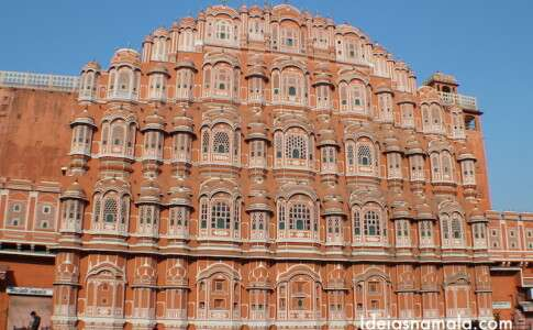 Palácio em Jaipur - Índia