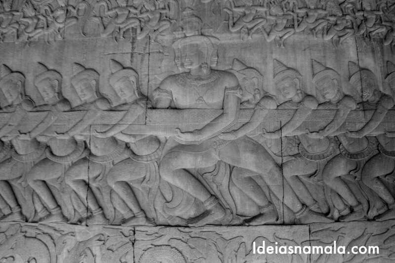Criação do universo no Angkor
