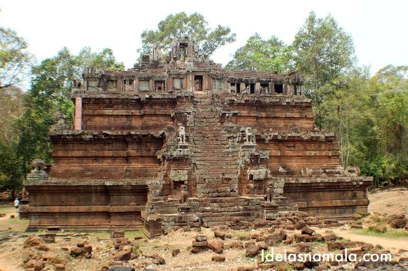 Um dos templos de Angkor