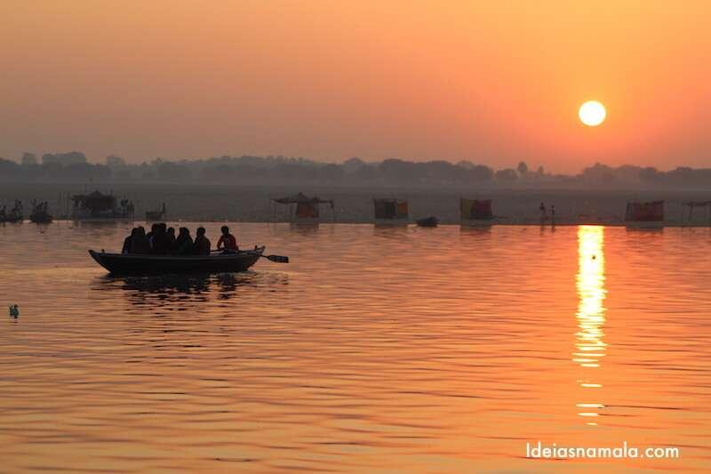 Nascer do sol - Varanasi