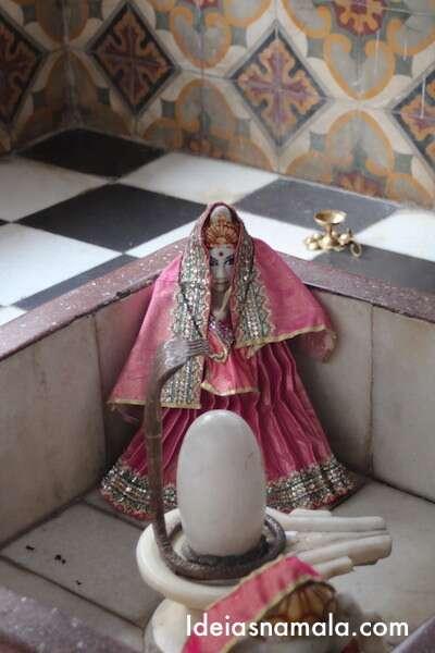 Um dos objetos de adoração do templo