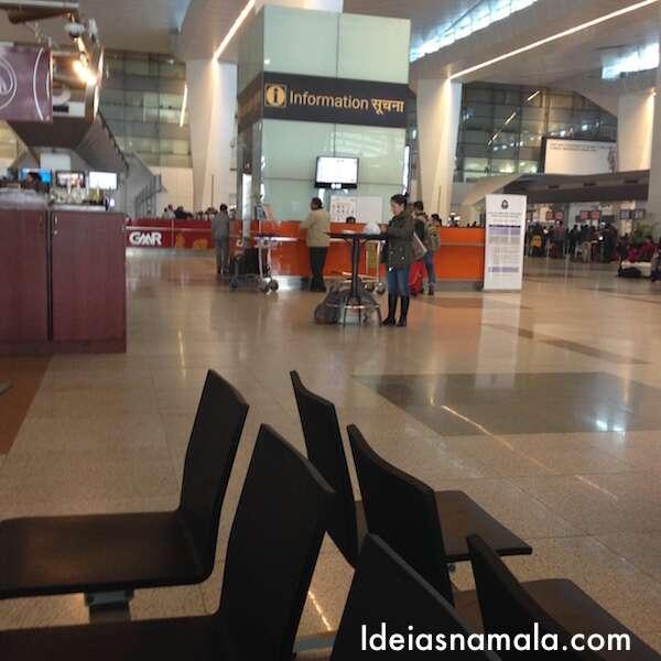 Aeroporto de Delhi