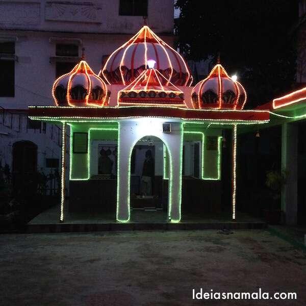 Templo Iluminado para o Ritual