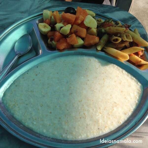 Café da manhã do Ashram