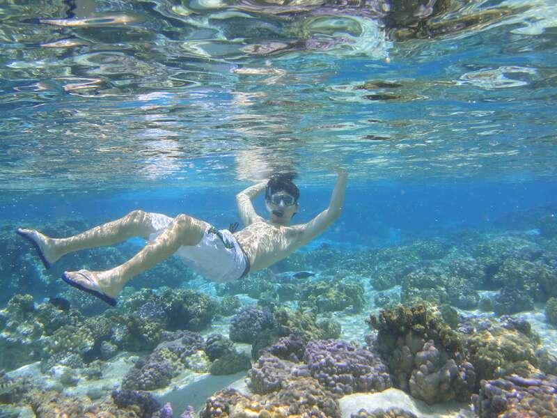 Mergulho em Tahaa - Tahiti