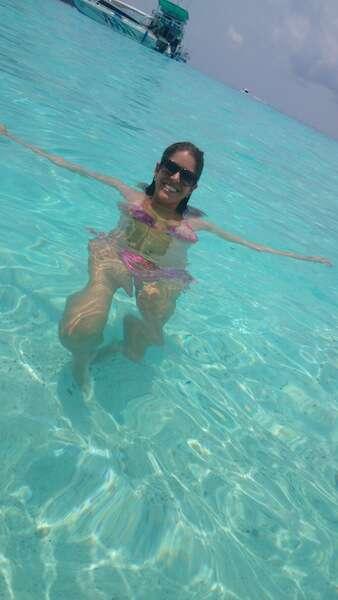 Mar azul na Tailandia