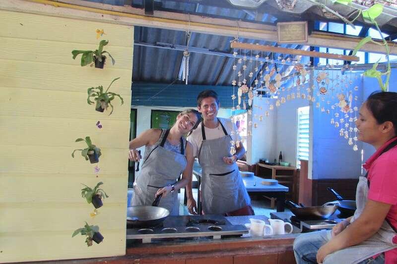 Aula de culinária - Chiang Mai