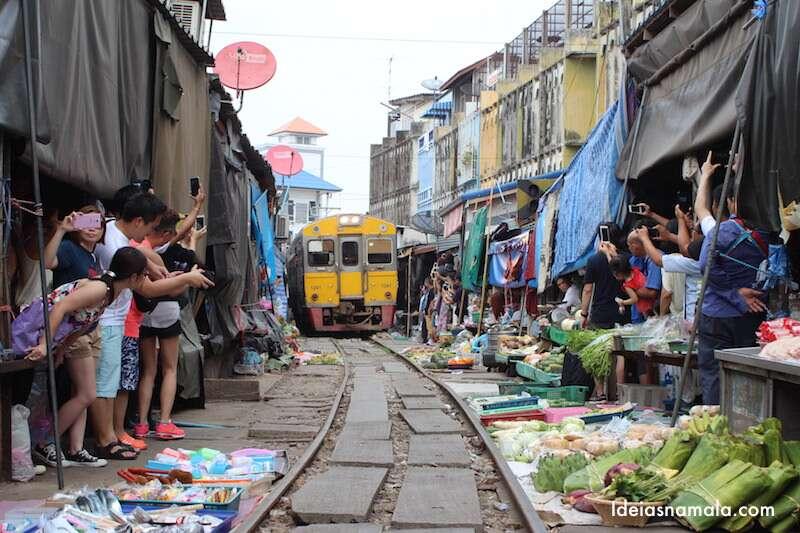 Maeklong Market - Tailândia