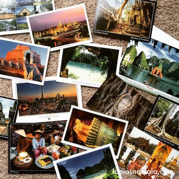Cartões Postais #IdeiasnaAsia